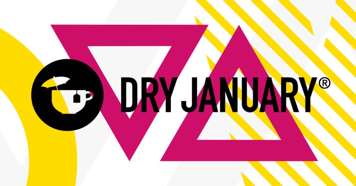 dry january UK campaign poster