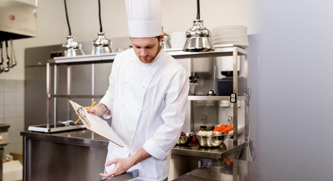 restaurant inventory reporting