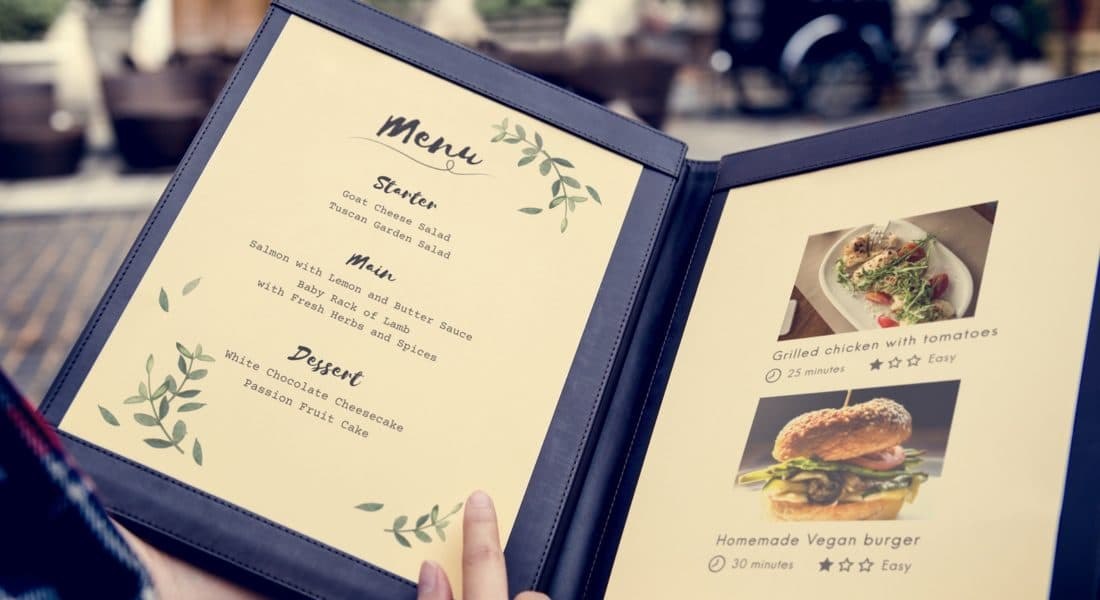 How to build the perfect private events menu restaurant