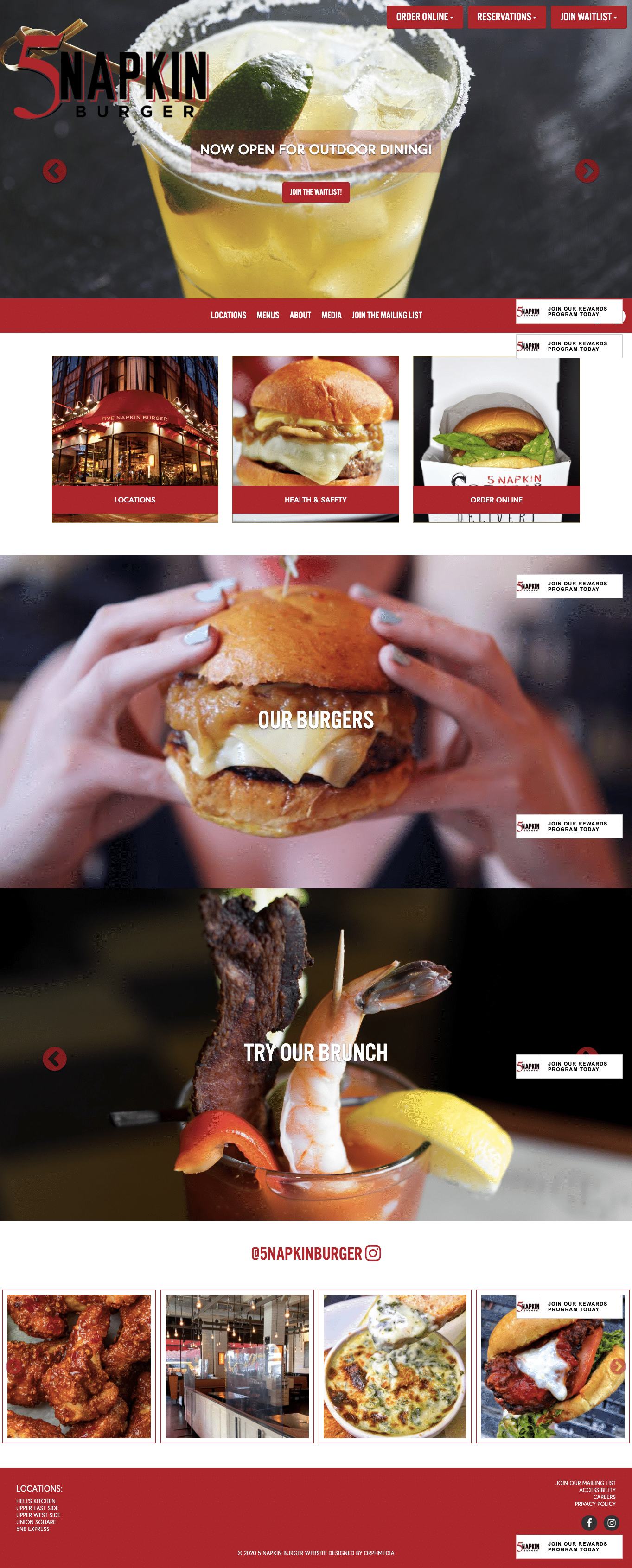 5 napkin burger website