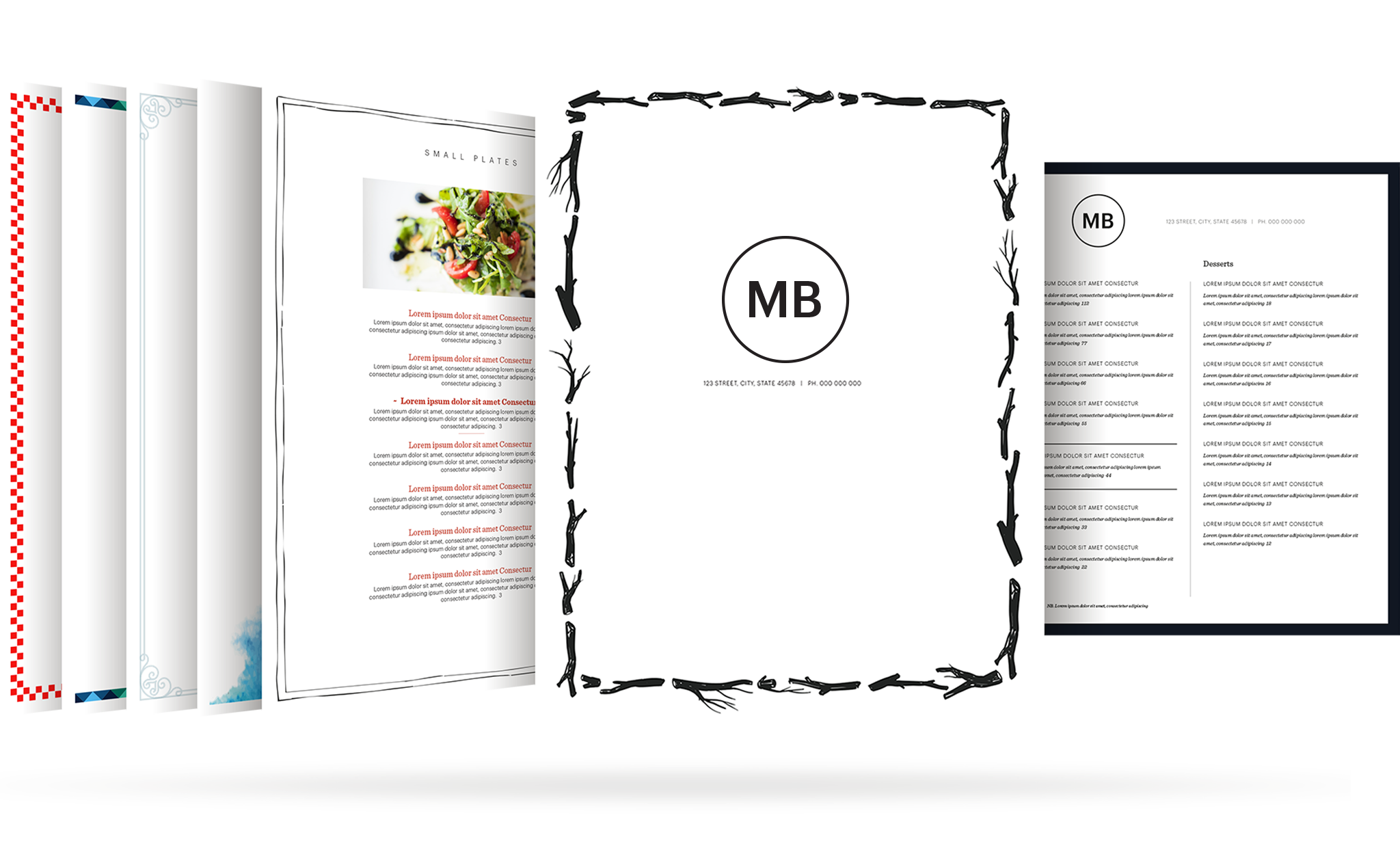 Restaurant Menu Template | Build Your Free Restaurant Menu Maker