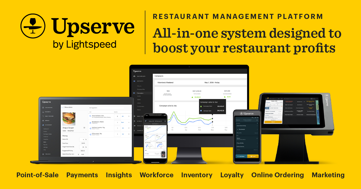Restaurant Inventory Management Software Upserve Inventory